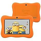 "Contixo Kids 7"" Quad-Core Android 4.4 Tablet 8GB Bluetooth Wi-Fi Dual Camera, 20+ Free Games, HD Edition w/ Kids-Place Parental Control Pre-Installed, Kid-Proof Case, Plus Bonus Items (Orange)"