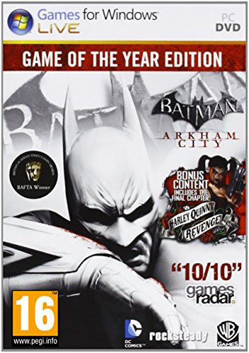 Batman: Arkham City: Game of the Year Edition(輸入版)