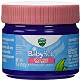 Vicks Babyrub Soothing Ointment Comfort For Babies 1.76oz Each review