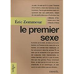 Le premier sexe dEric Zemmour