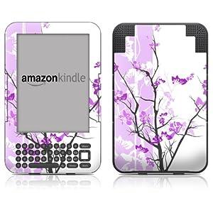 "DecalGirl Kindle Skin (Fits 6"" Display, Latest Generation Kindle) Violet Tranquility (Matte Finish)"