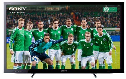 Sony Bravia KDL40HX755 102 cm (40 Zoll) 3D LED-Backlight-Fernseher, Energieeffizienzklasse A (Full-HD, Motionflow XR 400Hz, DVB-T2/C2/S2, Internet TV) schwarz