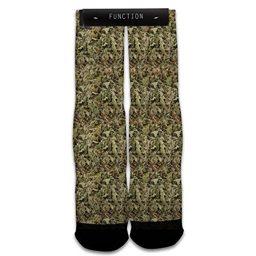 Function - Weed Bud Sublimated Sock
