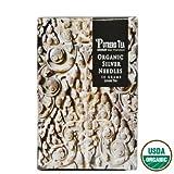 Organic Silver Needle Tea | 1.75 Ounce Tins (Pack of 2) | Potrero Tea Company
