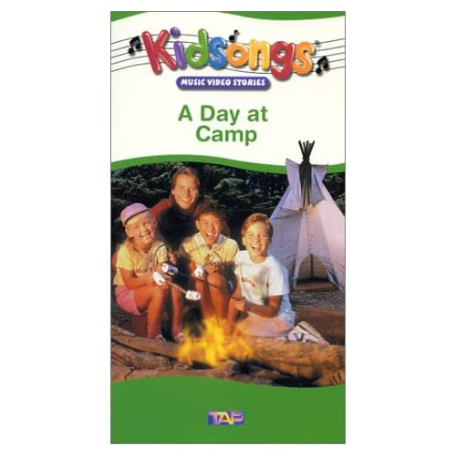 Kidsongs A Day At Camp Vhs 1989