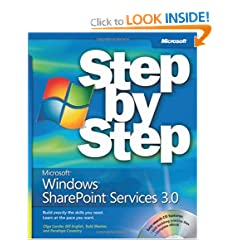 Microsoft Windows Sharepoint Services 3.0 Step By Step Book