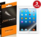 SUPERSHIELDZ- High Definition (HD) Clear Screen Protector For Apple iPad 4, 3 & 2 Generation + Lifetime Replacements Warranty [3-PACK] - Retail Packaging