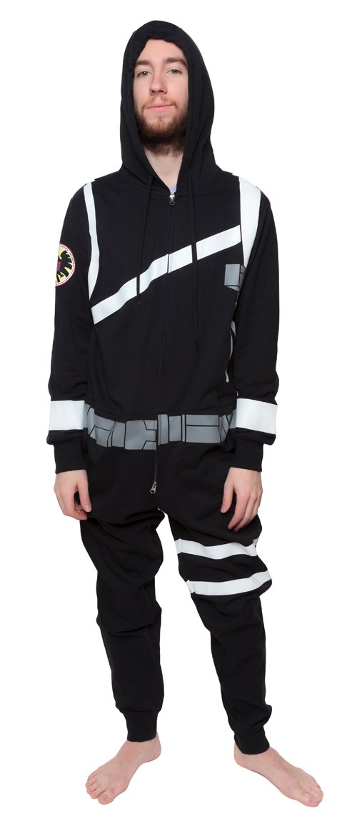 One Piece Sweatsuit - Marvel Agents of S.H.I.E.L.D - Zipper Jumpsuit Costume