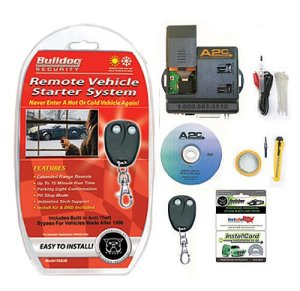 Bulldog Security RS83B Remote Starter with Builtin Bypass