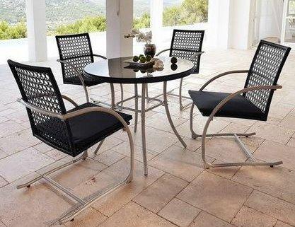 Modernes Gartenmöbel-Set »Provence« , Tisch+ 4 Stühle