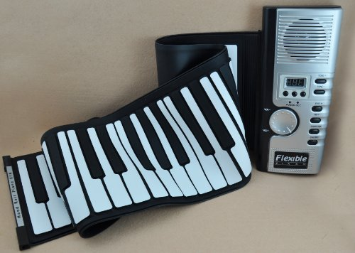 61 Keys Roll up Soft Electronic Keyboard Thick Piano Flexible