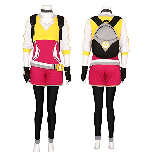 Women's Pokemon Go Trainer Uniform Team Valor Instinct Mystic Cosplay Costume Medium