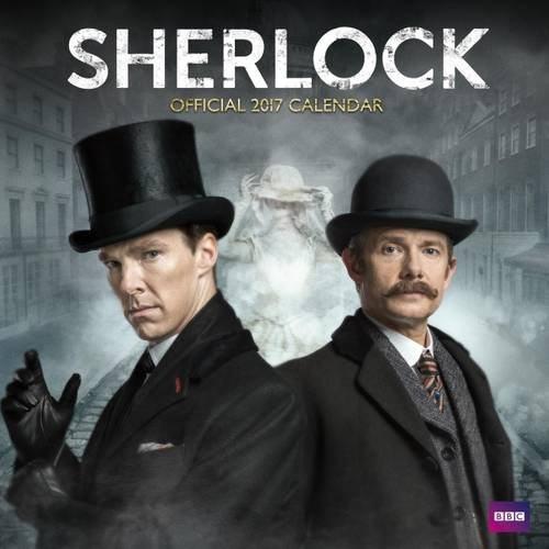 Sherlock Official 2017 Square Calendar