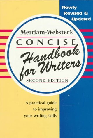 Merriam-Webster's Concise Handbook for Writers
