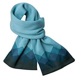 Product Image Merona® Knit Scarf With Squares - Blue