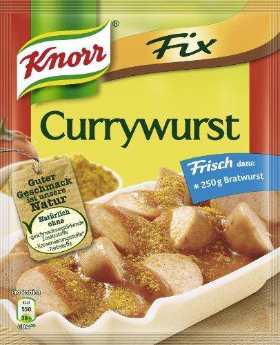 Knorr Fix für Currywurst, 9er Pack (9 x 36 g)