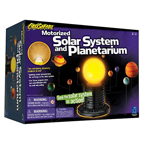Educational Insights Geosafari Motorized Solar System ...