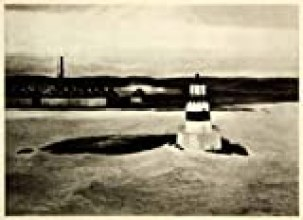 1945 Rotogravure Shoreline Coast Lighthouse 5 AM Light Sea Ocean Edward Hopper - Original Rotogravure