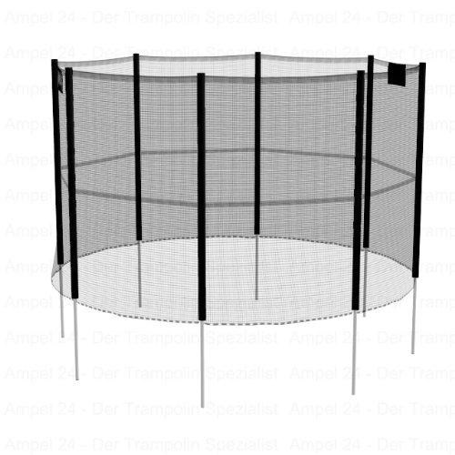 sicherheitsnetz 305 cm 8 stangen trampolin g nstig kaufen. Black Bedroom Furniture Sets. Home Design Ideas