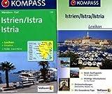 Kompass Karten, Istrien: Wandern / Rad