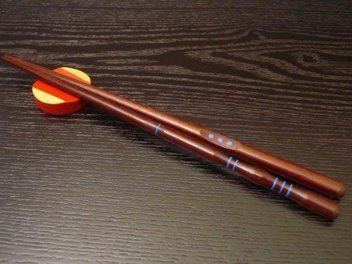矯正箸 正しいお箸の持ち方 しつけ箸 漆塗り 【男性用】男箸23.5cm(右手) お箸の持ち方 トレーニング 箸使い 三点支持箸