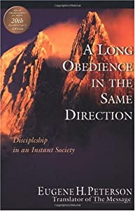 """Cover of """"A Long Obedience in the Same Di..."""