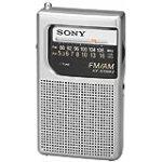 Sony ICF-S10MK2 Pocket AM/FM Radio, Silver for $12.01 + Shipping