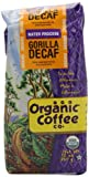 The Organic Coffee Co. Ground, Decaf Gorilla, 12 Ounce (Pack of 2)