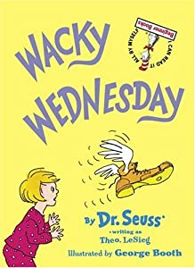 "Cover of ""Wacky Wednesday (Beginner Books..."
