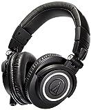 51HDUQDrcAL. SL160  - BESTSELLER UK Audio-Technica ATH-M50X Studio Monitor Professional Headphones - BLACK BEST BUY REVIEW