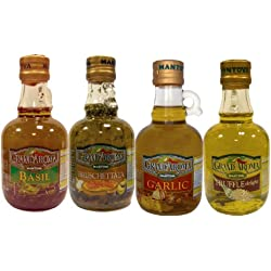 Mantova Bruschetta/Truffle/Garlic/Basil, Set of 4 bottles, 8.5 oz each