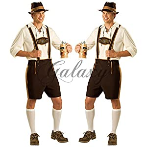 民族衣装 ドイツ ビール 男性用 仮装 コスチューム イベント コスプレ衣装 ps2220s-M