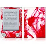 Rose Red Design Protective Decal Skin Sticker for Sony Digital Reader Pocket PRS 505
