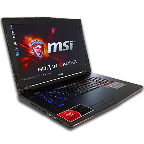 CUK MSI GT72 Dominator 17.3-inch Intel 6th Gen 32GB 1TB HDD NVIDIA GTX 970M 3GB Windows 10 Full HD Blu-Ray Gaming Laptop Computer