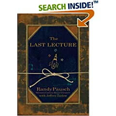 The New York Times Best Seller Books THE LAST LECTURE Randy Pausch Jeffrey Zaslow Livros