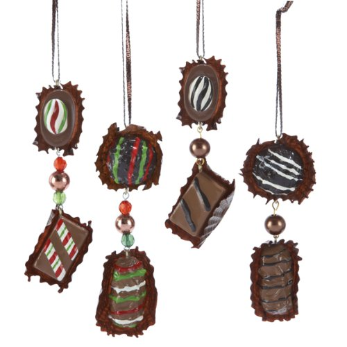 2-Piece Chocolates Christmas Ornaments