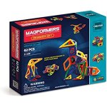 Magformers Magnetic Building Construction Set - 62 Piece Designer Set