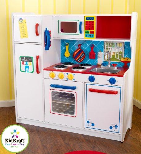 Kids Wooden Kitchen Set Best Wood Play Girls Boys