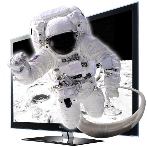 LG 55LW4500 139,7 cm (55 Zoll) Cinema 3D LED-Backlight-Fernseher, Energieeffizienzklasse A  (Full-HD, 100Hz, DVB-T, DVB-C, CI+) schwarz
