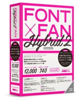 ポータル・アンド・クリエイティブ FONT x FAN HYBRID 2