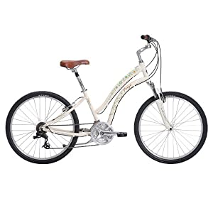 "Women's Forge Sejour Path Comfort Bike - Egg-Shell White (16"")"