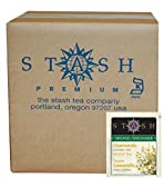 Stash Tea Organic Herbal Tea Bags in Foil, Chamomile, 100 Count