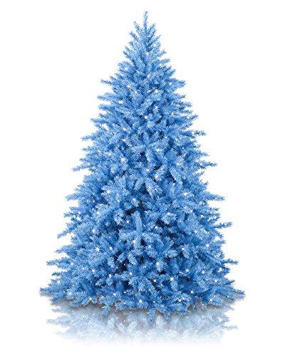 artificial blue tree