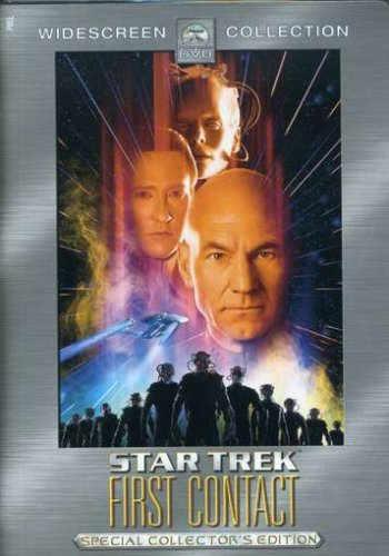 """Cover of """"Star Trek VIII: First Contact (..."""