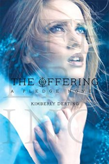 The Offering: A Pledge Novel (The Pledge Trilogy) by Kimberly Derting| wearewordnerds.com