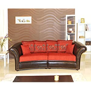 online bestellen sofa kolonialsofa elephant in runder ausf hrung rot sofas test. Black Bedroom Furniture Sets. Home Design Ideas
