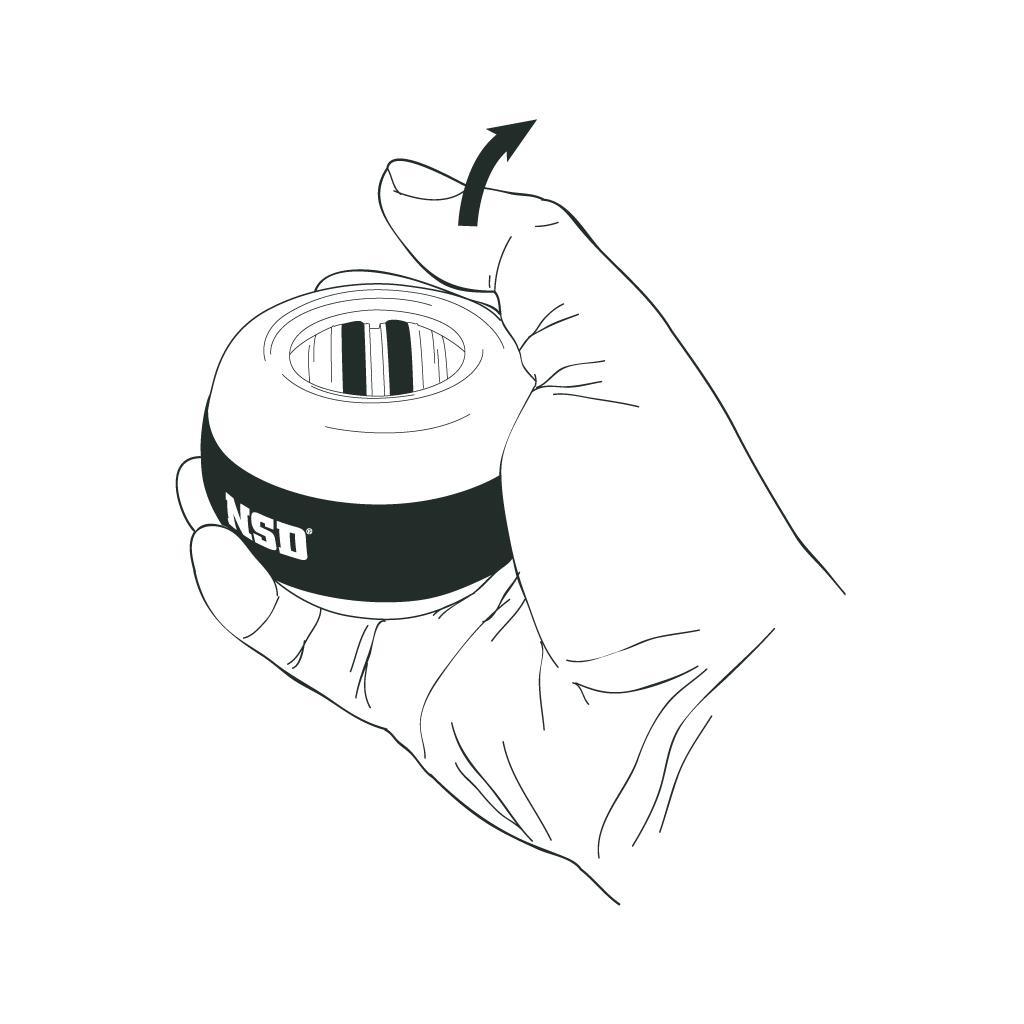 Amazon Nsd Power Autostart Spinner Gyroscopic Wrist