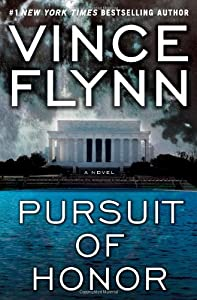"""Cover of """"Pursuit of Honor(Mitch Rapp, No..."""