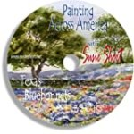 Painting Across America – Texas Bluebonnets and Live Oaks with Susie Short