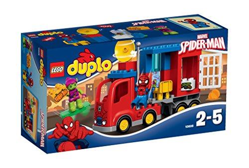 Lego - 10608 - DUPLO Super Heroes - L'avventura del camion-ragno di Spider-Man